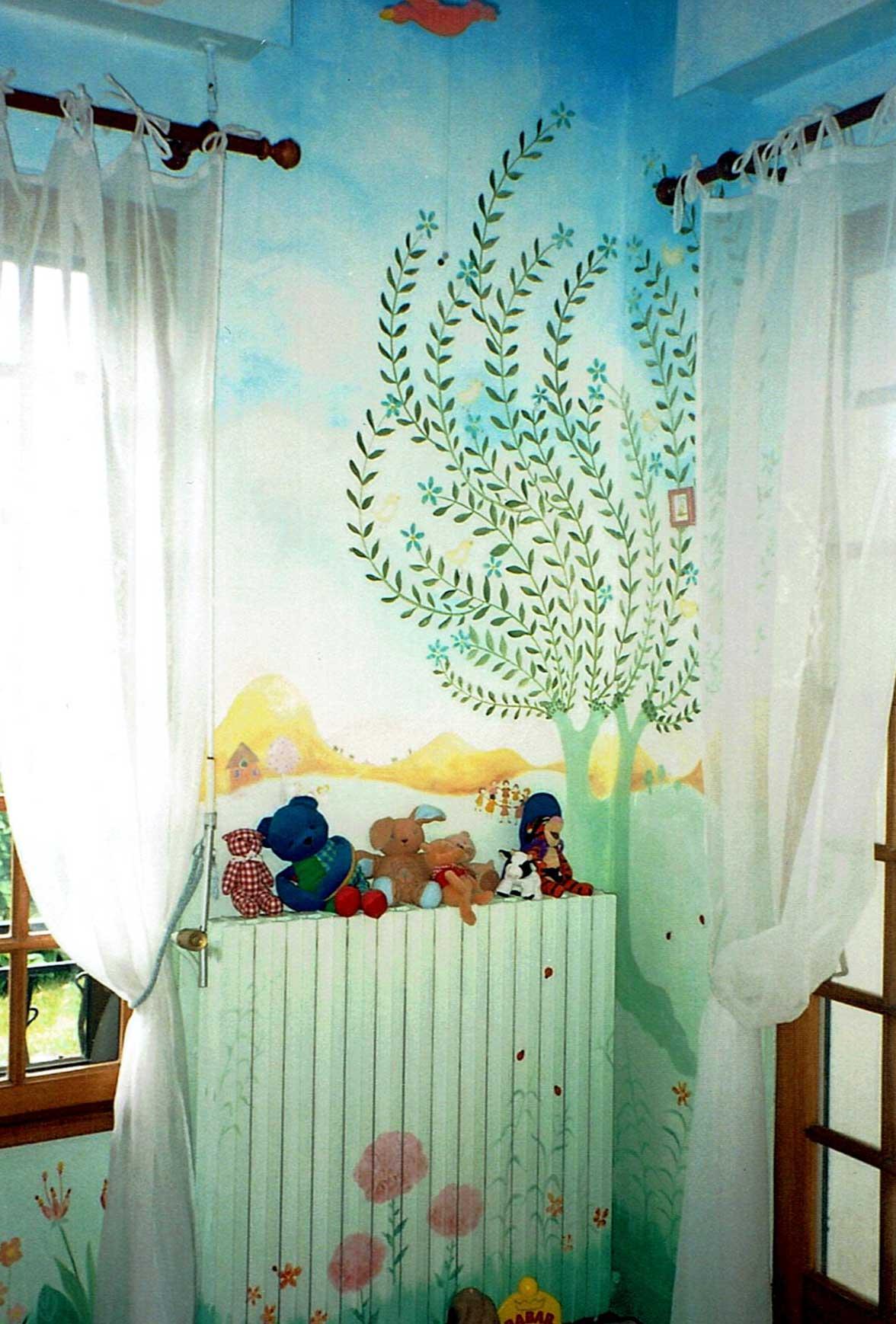 Peintures murales catherine ruszniewski for Peintures murales