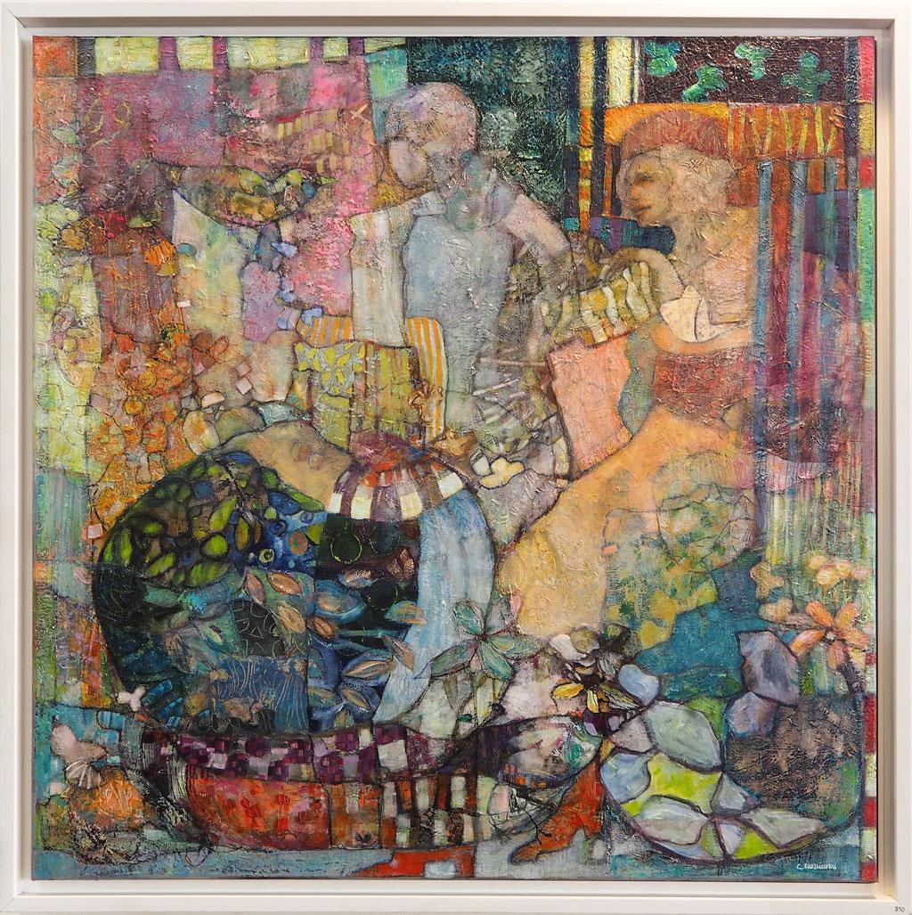 Découvrez Catherine Ruszniewski Artiste Peintre Sur Le
